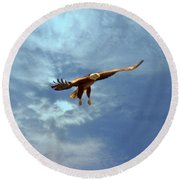 Soaring Round Beach Towel