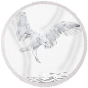 Soft Landing Round Beach Towel