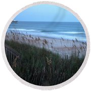 Soft Ocean Round Beach Towel