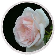 Softly Pink - Rose Round Beach Towel