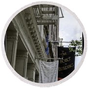 Soho 2 - Nyc Round Beach Towel