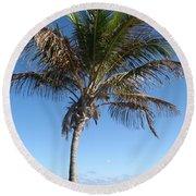 Sole Palm Round Beach Towel