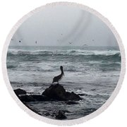 Solo Pelican Round Beach Towel
