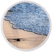 Something Lost Round Beach Towel