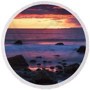 Sound Colors Round Beach Towel