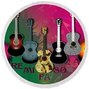 Sounds Of Music - Featured In Newbies Group Round Beach Towel
