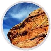 South Coyote Buttes 6 Round Beach Towel