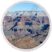 South Rim Grand Canyon National Park Round Beach Towel