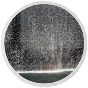 South Tower Water Round Beach Towel