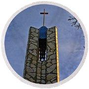 Southern California's Wafarers Chapel 1 Round Beach Towel