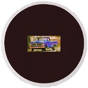 Southern Ride Two Round Beach Towel