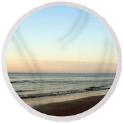 Southern Sunrise Round Beach Towel