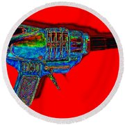 Spacegun 20130115v1 Round Beach Towel