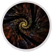 Sphere 5 Round Beach Towel