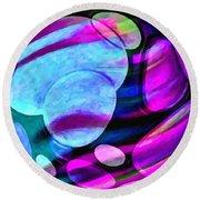 Spheres Of Influence Round Beach Towel