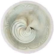 Spherical Delicacy Round Beach Towel