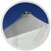 Sphinx Observatory Round Beach Towel