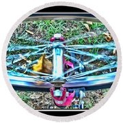 Spinning Round Round Beach Towel