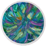 Spiral Round Beach Towel