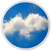 Spirit In The Sky Round Beach Towel