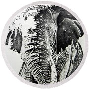 Spirit Of The Serengeti Round Beach Towel