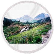 Splendid Wonder Round Beach Towel