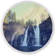 Splendor Round Beach Towel