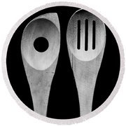 Spoons Round Beach Towel