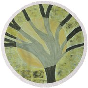 Spotlight Round Beach Towel