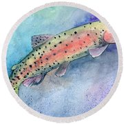 Spotted Trout Round Beach Towel