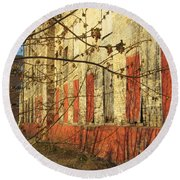 Spring Buds And Urban Decay 3 Round Beach Towel