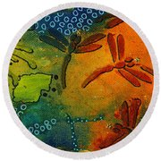 Spring In Full Effect Round Beach Towel