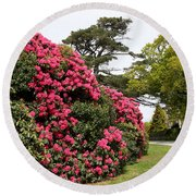 Spring In Muckross Garden - Ireland Round Beach Towel