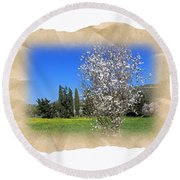 Spring In The Paper Round Beach Towel