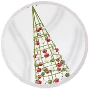 Squiffy Tree Round Beach Towel