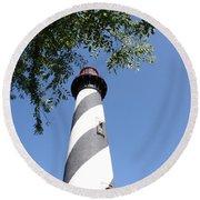 St. Augustine Light Round Beach Towel