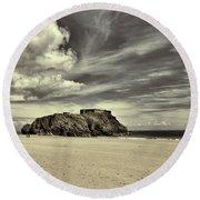 St Catherines Island 6 Round Beach Towel
