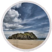 St Catherines Island 7 Round Beach Towel