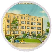St. Francis Hospital Round Beach Towel