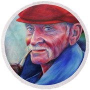 St. Francis Round Beach Towel