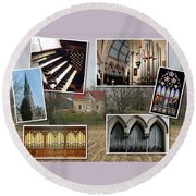 St George's Guelph Round Beach Towel