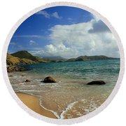 St. Kitts Beach Round Beach Towel