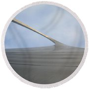 St. Louis - Gateway Arch 4 Round Beach Towel