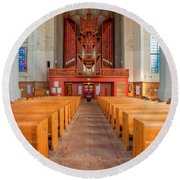 St. Marks Cathedral 4 Round Beach Towel