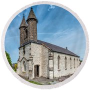St Michael Church Round Beach Towel