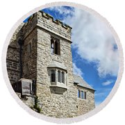 St Michael's Mount 2 Round Beach Towel