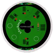 St. Patrick's Day Tournament - Featured In 'cards For All Occasions' Round Beach Towel