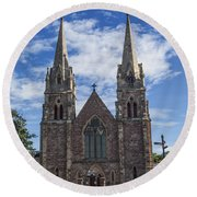 St Peters Round Beach Towel