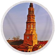 St Phillips Round Beach Towel