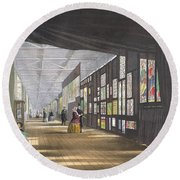 Stained Glass Gallery, From Dickinsons Round Beach Towel